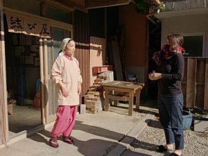 日本放映プロ主演映画撮影中