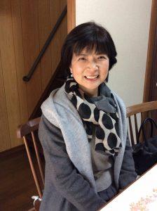 シニアモデル撮影平山恵美子