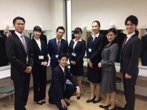 日本放映プロ所属タレント-オフィスシーン撮影