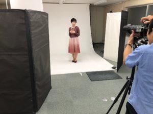 モデル撮影写真風景