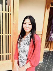 シニアモデル一井洋子
