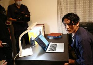 日本放映プロ製作映画「おせっかいチーム」撮影風景