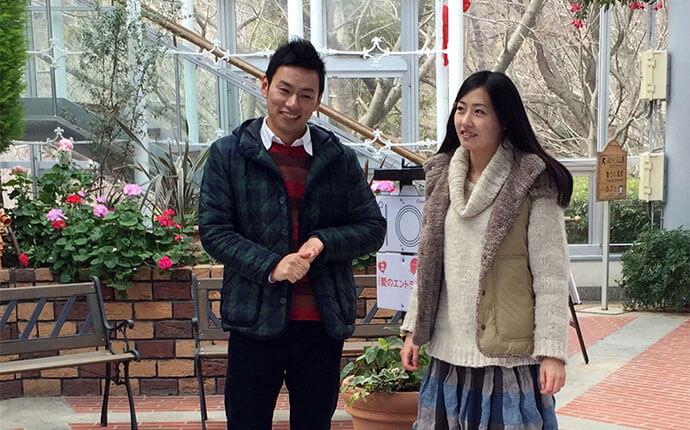 関西大阪のタレントプロダクション日本放映プロ所属大久保ともゆき五十嵐結のモデル撮影風景