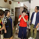 日本放映プロ製作映画おせっかいチーム撮影風景・大阪ロケ