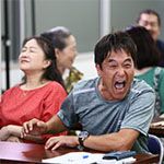日本放映プロ製作映画おせっかいチーム撮影風景・スタジオ